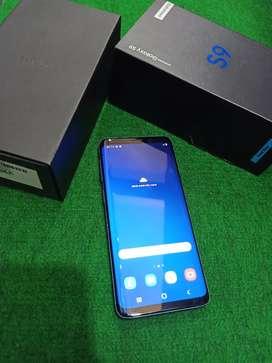 Samsung S9 Coral Blue Ram 4/64 fullset terawat