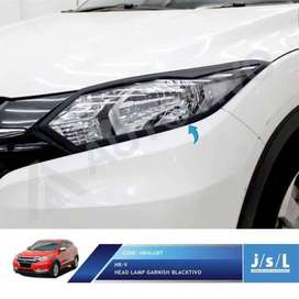 HR-V Honda *#* Head Lamp Garnish BlackTivo >> KIKIM JAVEN