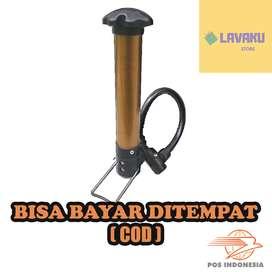 Pompa Angin Ban Sepeda Tier Air Pump TaffSPORT - Golden