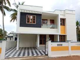 4.5cent Red bricks House Chenkottukonam