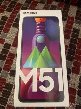 Samsung galaxy m51 8gb/128gb sealed pack