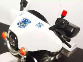 Mainan jadul motor chips police.vintage toys