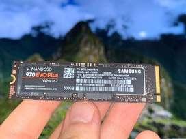Samsung 970 EVO Plus 500GB SSD NVME M.2 (Gen3)