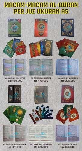Mushaf Al Quran Terjemah per juz (Purworejo)