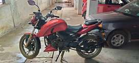 TVS Apache 200 RTR, in really good condition, barely used, No accident
