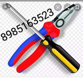 Electrical work & plumbing work