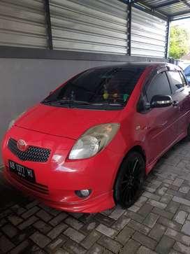 Dijual Yaris Automatic 1.5 Type S 2007 Merah