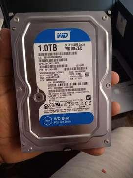 1 TB hard disk WD