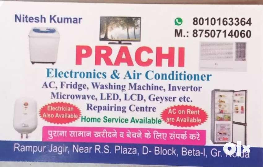 Ac fridge washing machine inverter microwave repair centre and ac rent