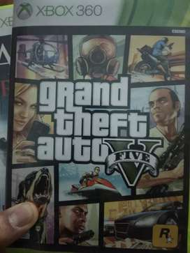 Gta 5 Assassin's creed 3,4 and Pes13 for Xbox 360