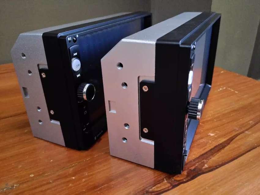 tape doubledin / double din merk podofo bonus kamera mundur (baru) 0