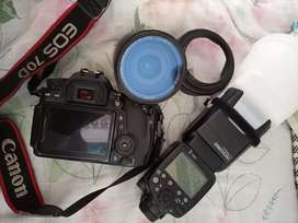 Canon 70D with 18-200 Lens