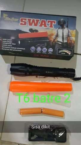 SENTER SWAT T 6 batre 2 super terang