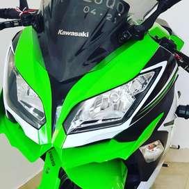 Ninja hijau 250 SE ABS 2016