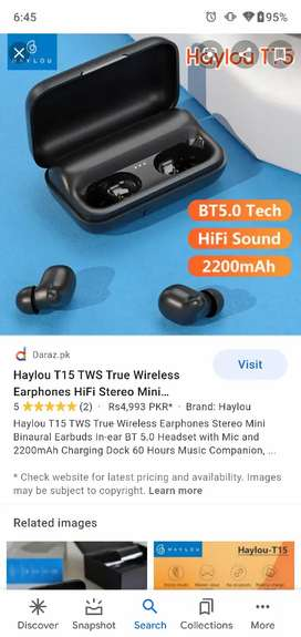 Haylou T15 airporta