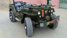 Toyota automatic without clutch and modified jeep