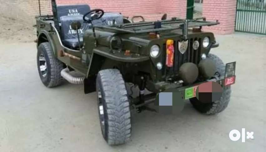 Toyota automatic without clutch and modified jeep 0