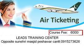 air ticketing course#leads training center#jobs in Peshawar