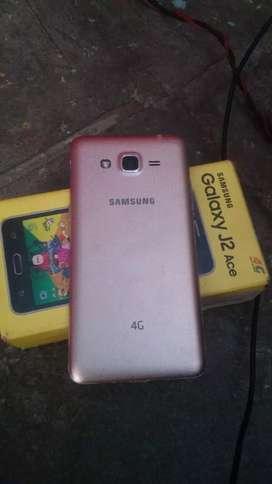 Samsung galaxy j2 ace VOLTE box mobile original charger good condition