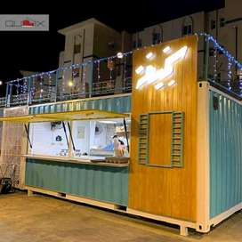BOOTH CONTAINER / CONTAINER MAKANAN / CAFE RESTO KEKINIAN