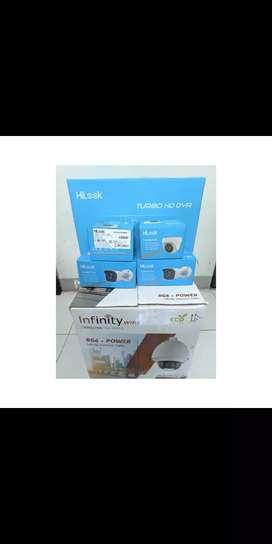 Paket 4 Kamera CCTV HIlook HD 2MP By : Hikvsion