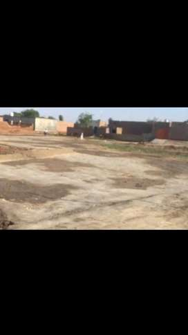 Plot for sale near arshad garden backside of millat rice mill
