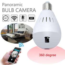 spy bulb camera available in ultra resolution in low price