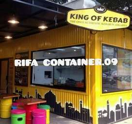 CONTAINER COFFEE SHOP, CONTAINER BOOTH, CONTAINER USAHA, BOOTH LIPAT