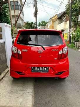 Daihatsu ayla X elegant 2016/2015 akhir matic  merah istimewa