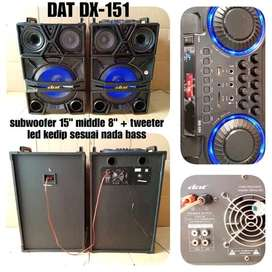 (Cash & Credit) Speaker Aktif Dat 15 inch DX-151