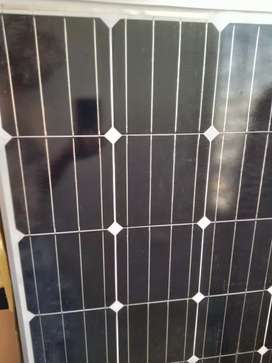 Solar plate with Stand.