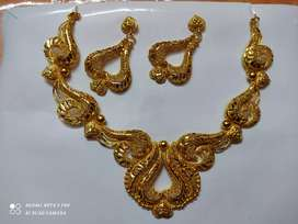 Gold covering ornaments