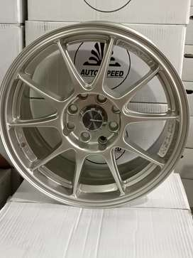 all new FLASH CT1069 HSR R15X7 H8X100-114,3 ET38 TITANIUM SL