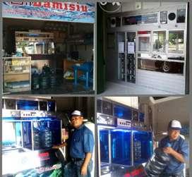 Jual depot air minum dari stanles made in Damisiu