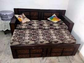 Sofa cum bed good condition