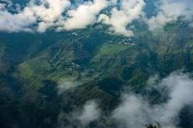 Himalayan Facing Land At Hartola Mukteshwar