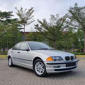 BMW E46 318i M43 Fabric Silver on Black Full Original