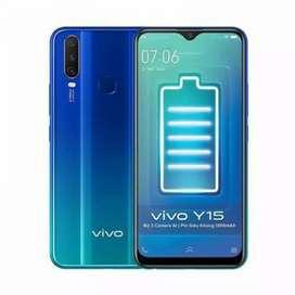 Vivo Y15 RAM 4/64,cash & kredit garansi resmi