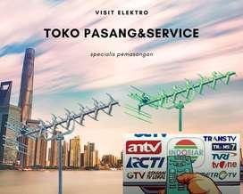 Specialist Instalasi Pasang Sinyal Antena Tv Analog Digital