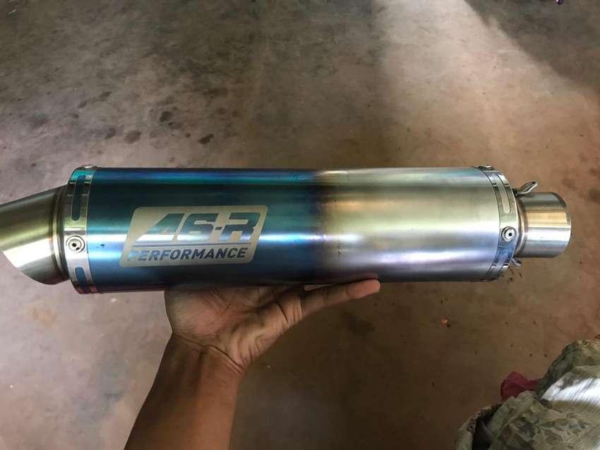 Silincer A6R half blue 0