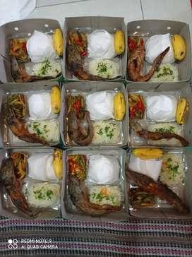 Nasi box murah, enak, halal