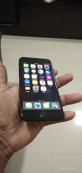 Iphone 7 Black With SUPCASE