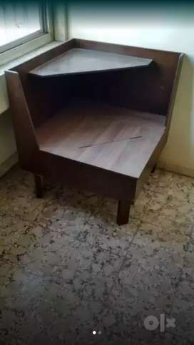 Corner Table unit mistry made from waterproof plywood