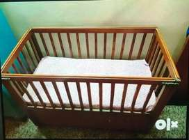 Baby Cot in Wood