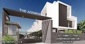 3 BHK Luxury villas  at Chandranagar Junction, Palakkad