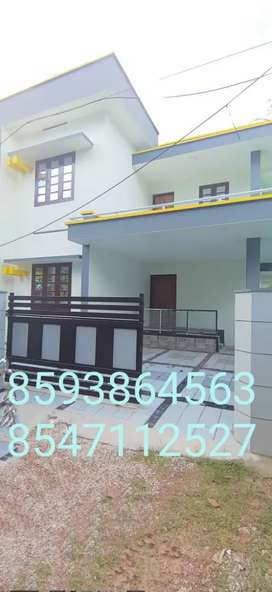4Cent Plot With 1750 Sq. Ft 3 Bhk House Sale In Puliyathumukku