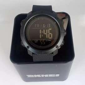 SKMEI 1434 Full Black ORIGINAL waterresist jam tangan malang free cod