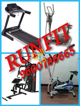 Treadmill in runfit cash on delivery for easy fitness
