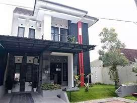 Rumah sewa furnish 2 lantai dalam perumahan dekat malioboro