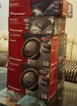 Pioneer heavy sound system upfor sale
